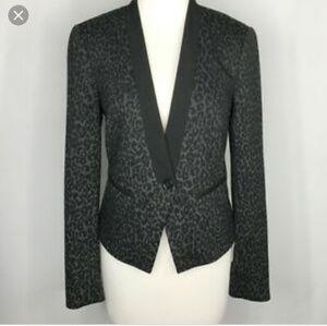 The Loft tuxedo blazer